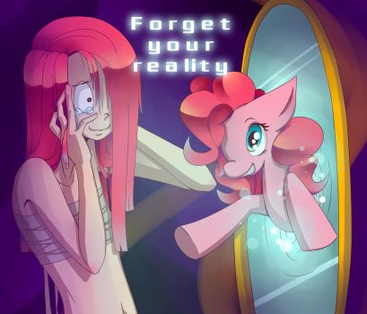 _FORGET U REALITY_ by Morra-chan