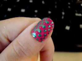 Optical illusion nails by Toxic-Muffins-Studio