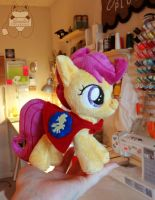 Cutie Mark Crusader Scootaloo by JanellesPlushies