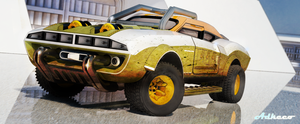 Monster Truck coupe by aconnoll