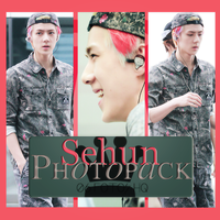 Photopack Sehun- Exo 003 by DiamondPhotopacks