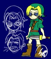 Zelda project: Link reference by TheSugarEater