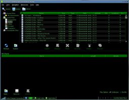 Green and Black Limewire Skin by Tool-maN