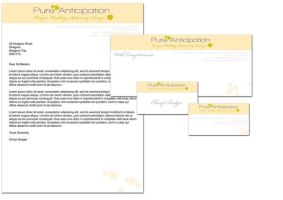 Pure Anticipation Stationery by NineteenPSG
