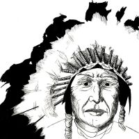 Native American by JaeBlaze06