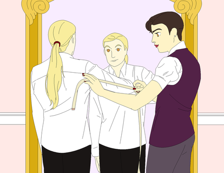 Getting Ready by retiringtheredsheet