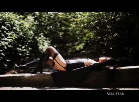Relaxing and Embracing the Sun by Asia-Star