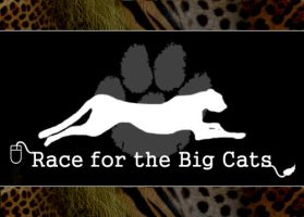 Race for the Big Cats Logo by HeWhoWalksWithTigers