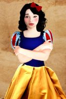 Realistic princess: Snow White by Willemijn1991