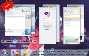 MS OFFICE 2010 Skin For YM by Mr-Thien