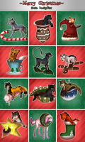 12 Christmas presents~ by LuckyPaw