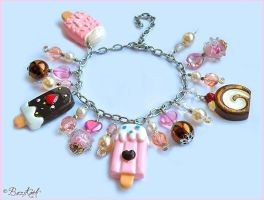Sweet Ice cream Bracelet by BaziKotek