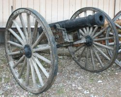 MoA Museum 180 Cannon by Falln-Stock