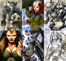 Marvel Dangerous Divas 17 by RichardCox