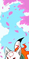 Bookmark - Okami Den by Willow-San