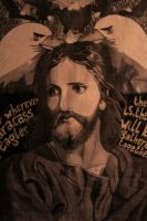 Jesus Christ at 33years old by kjdvndv