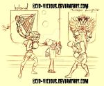 Boxing - Ireland vs. Russia by Cid-Vicious
