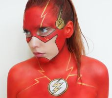 The flash makeup unedited photo by marymakeup