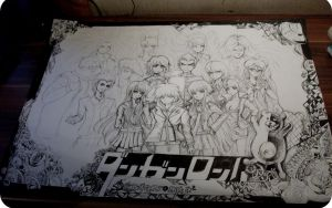wip DANGANRONPA by Telemaniakk