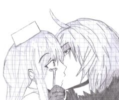 .::A forbidden kiss::. by ill-do-anything-4-u