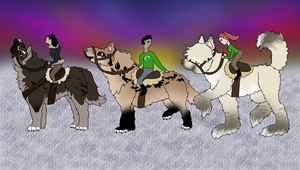 Rite of Fortitude: Rukiona, Lira, and Wasau by TheMs0kitty