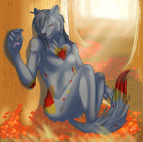 Autumn Sun by Aki-rain