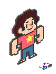 Steven Isometric Projection by ZushidotomoThe3DHero