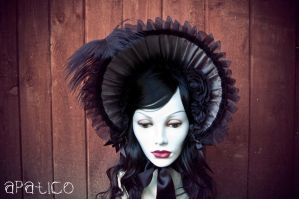 Black x Gray Bonnet 1 by apatico