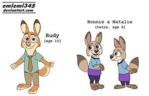 [Zootopia] WildeHopps Kids by emiemi345