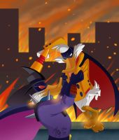 City is Burning by YelZamor