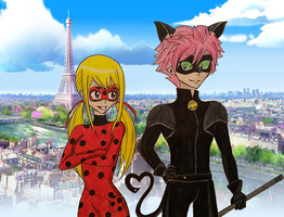 Miraculous Fairy Tail by Nalulover98