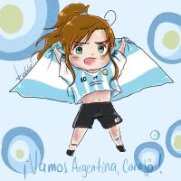 Vamos Argentina, Carajo by AkariMarco