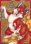 ACEO: The Gears Are Turning by Redwall151