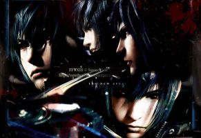 FFV13 Noctis - Wallpaper Wide by Venthor78