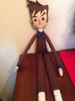 10th Doctor rag doll by tee-kyrin