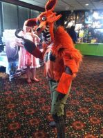 Foxy (five nights at freddy's cosplay) by UndeadHearts