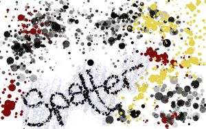 Spatter animated GIMP brush by mesilliac