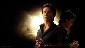 Damon Salvatore by BloodyMary-NINA