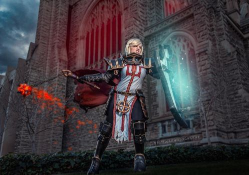 Diablo 3 - Female Crusader 1 by AstroKerrie