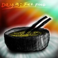 day3: your favourite food by Naphula