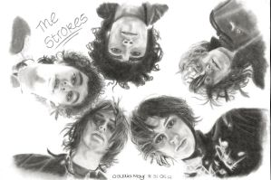 The Strokes by TheRockCandysMelted