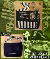 Beetlejuice Messenger Bag 2 by tavington