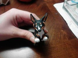 Lolly, Corgi Polymer Comiss by Senwolf10