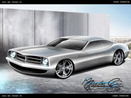 Cudaro GT HEMI Concept by CrashDesign