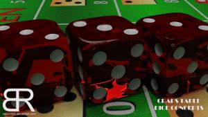 Casino - Craps Table - New dice concepts by Neon2005