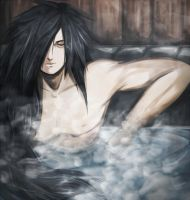 Uchiha Hot Spring by FireEagleSpirit
