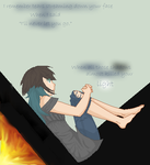 {[(I remember tears streaming down your face)]} by SugaryLovewish