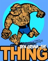 Ben Grimm, the Thing by brodiehbrockie