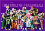The family of Dragon Ball by albertocubatas