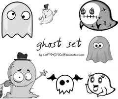 Ghost Brushes by oANG3Lo